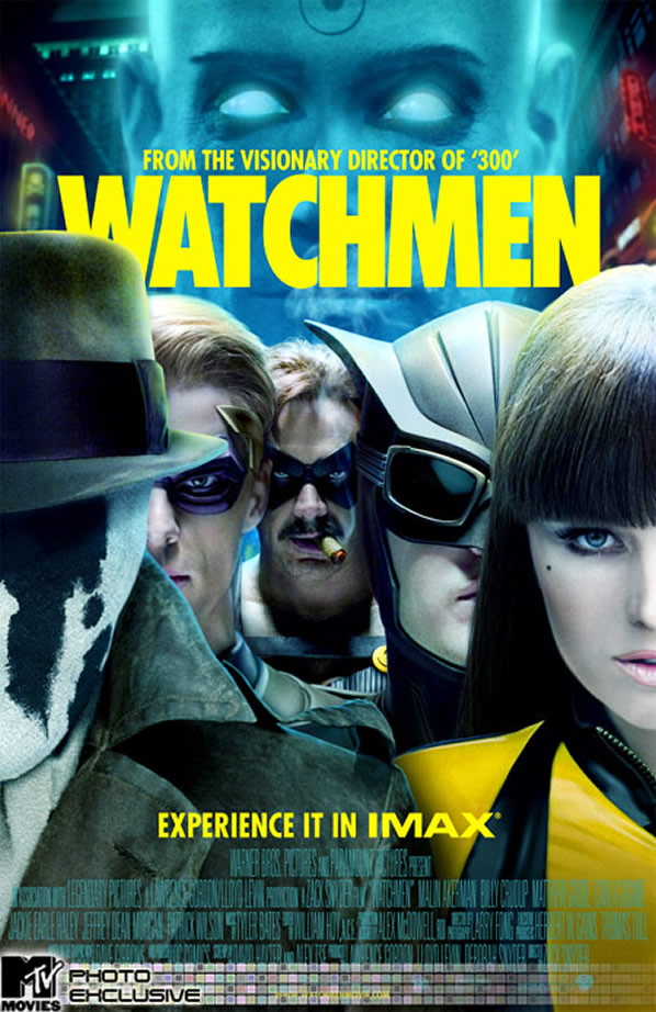 IMAX Poster for Watchmen