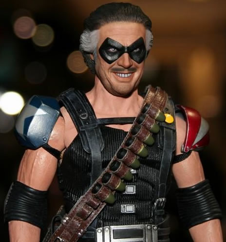 Hot Toys Comedian Action Figure