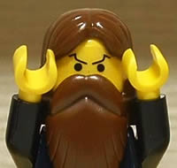 Writer Alan Moore… as a LEGO mini-figure