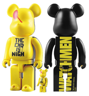 Watchmen Bearbrick 400/100 Percent Set