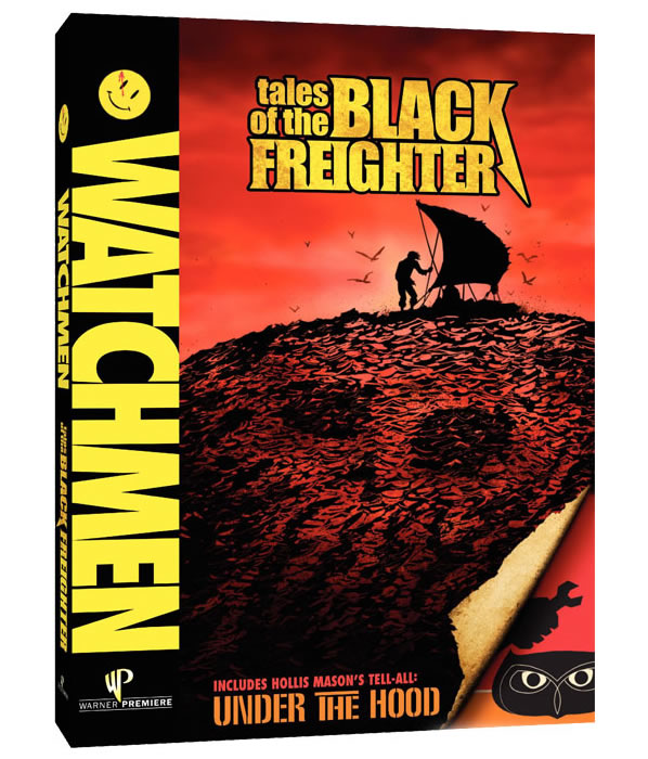 Tales of the Black Freighter DVD