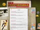 The New Frontiersman Viral Microsite