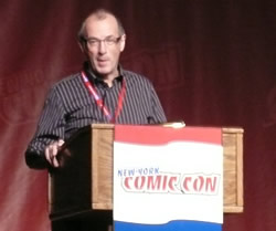 Dave Gibbons  at NY Comic-Con 2009