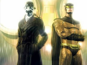 Rorschach and Nite Owl