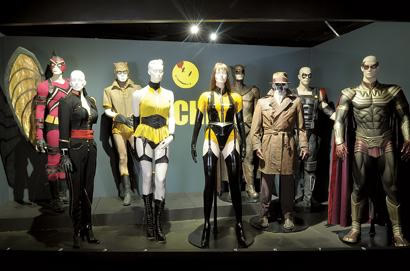 Watchmen Costume Exhibit in L.A.
