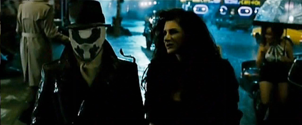 Frame from 5th Watchmen TV spot