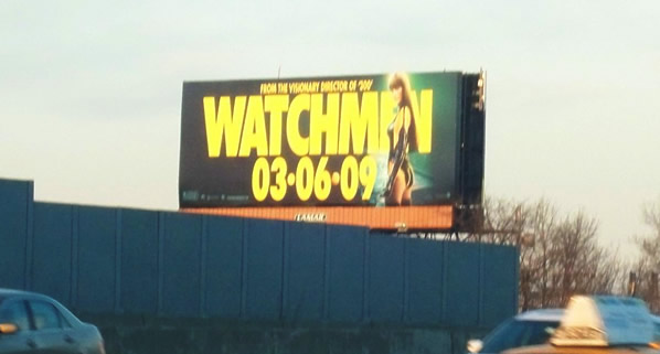 Watchmen billboard