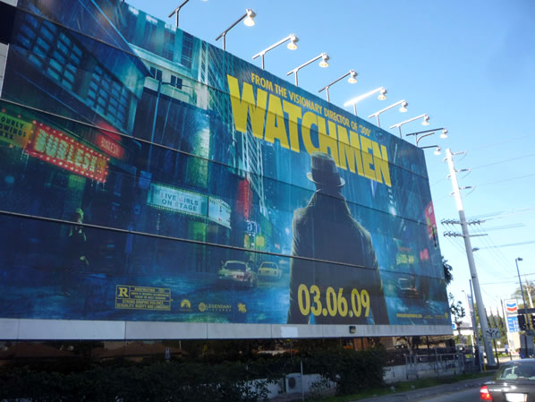 Watchmen supergraphic