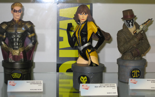 Watchmen busts