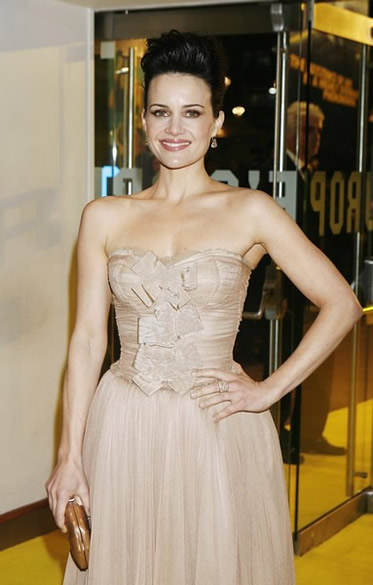Carla Gugino at the UK premiere
