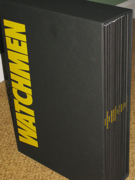 Watchmen movie UK press kit slipcase
