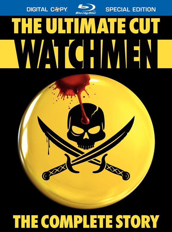 Watchmen: The Ultimate Cut Blu-ray Cover